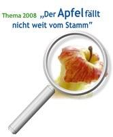 """""""Der Apfel fällt nicht weit vom Stamm"""" – NRW Schülerwettbewerb bio-logisch 2008 wieder mit neuer Rekordteilnehmerzahl"""
